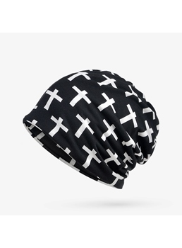 Cross Cotton Loop Skullies & Beanies Hats