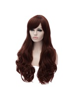 Long Wavy Synthetic Hair Heat Resistant Cosplay Wig