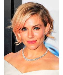 Short Silky Straight Soft Synthetic Hair Lace Front Women Wig 8 Inches