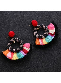 Hoop Colour Earrings