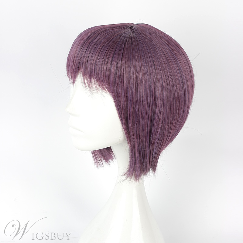 Japanese Lolita Style Synthetic Short Straight Cosplay Wig