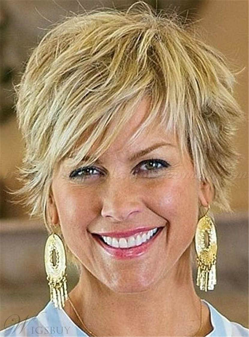 Short Chic Straight Charming Human Hair Capless Women Wig 6 Inches