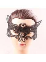 Halloween Fox Hollow Out Lace Sexy Mysterious Masquerade Mask