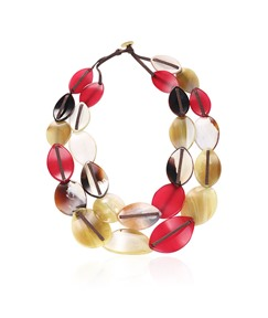 Colorful Small Rounds Acrylic Necklace