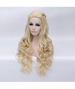 Daenerys Hairstyle Long Curly Cosplay Wig 28 Inches