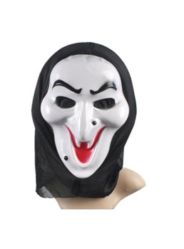 Halloween Series Smile Ghost Masquerade Mask