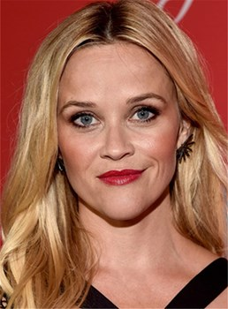 Reese Witherspoon Mid-length Loose Wave Synthetic Hair Lace Front Wigs 14 Inches