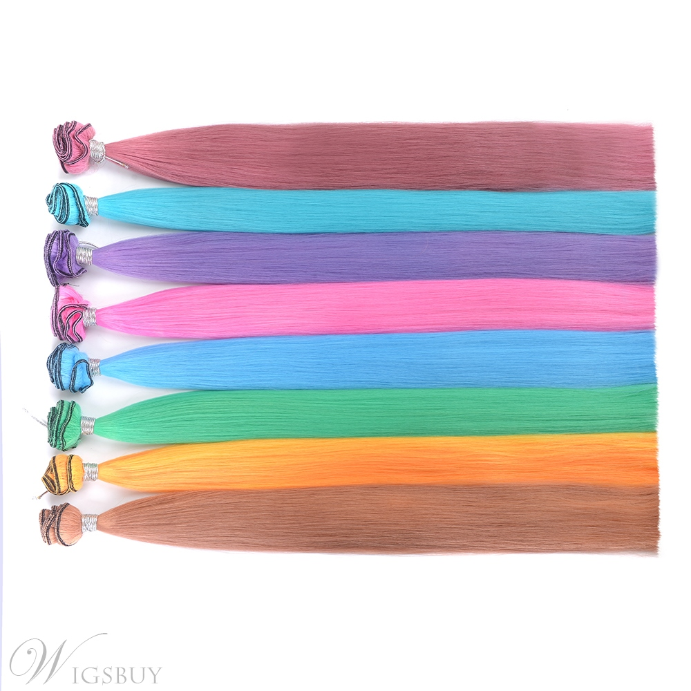 Color changes As The Temperature Changes Synthetic One Piece Clip In Hair
