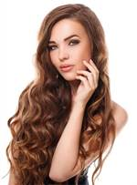 Long Fascinating Wavy Sweet Synthetic Hair Lace Front Women Wigs 26 Inches