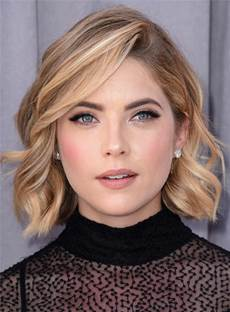 Short Attractive Wavy Popular Synthetic Hair Lace Front Women Wigs 10 Inches