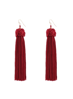 Tassels Pure Colur Earrings