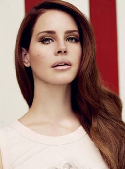 Long Lana Del Rey Wavy Graceful Synthetic Hair Lace Front Women Wigs 20 Inches
