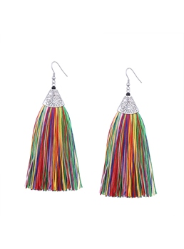 Tassels Ethnic Style Earrings