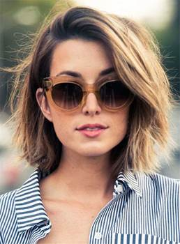 Short Sexy Straight Classical Synthetic Hair Lace Front Women Wigs 10 Inches