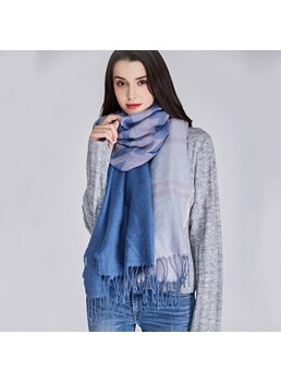 Hot Sale Plaid Cashmere Winter Shawl Scarf