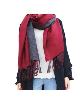 Fashion Cashmere Double Side Fall Winter Scarf