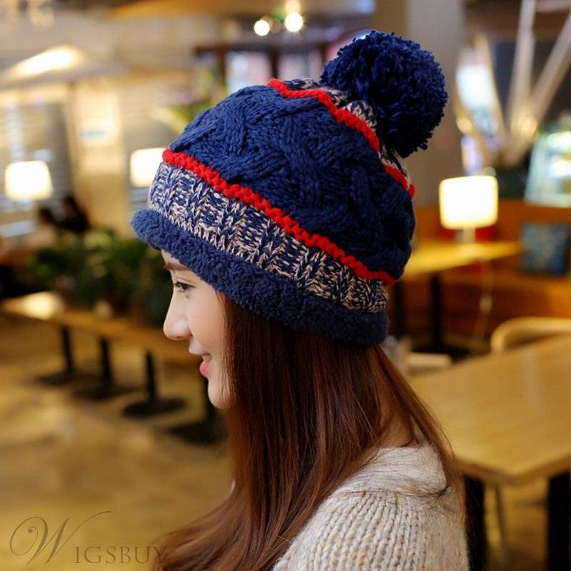 Knit Warm Winter Women Hat