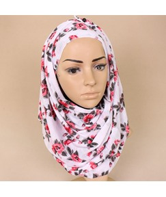 New Arrival Muslim Kerchief Stretch Jersey Scarves