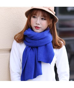 Woolen Yarn Knitting Thicken Shawl Scarf