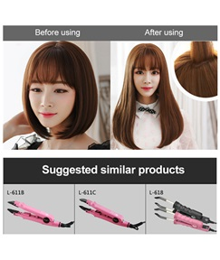 (TM) US Plug Professional Hair Extensions Tool Fusion Heat Iron Connector Wand Melting