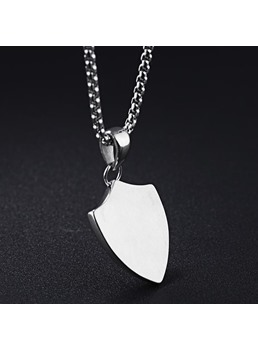 Shield Alloy Necklace
