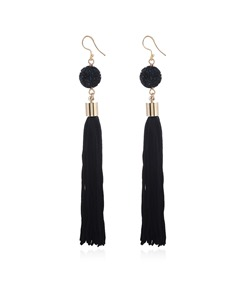 Ethnic Handmade Long Tassel Earrings