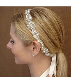 Sparkling Rhinestone Handcraft Bride Hair Accessories