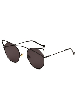 Hollow Out Cat's Eye Sunglasses