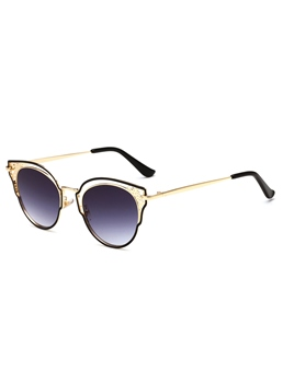 Hollow Cat's Eye Sunglasses