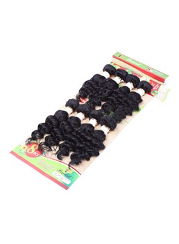 8inch Human Hair Blend Hair Weave Bundles Short Sew in Hair Extensions for Black Women