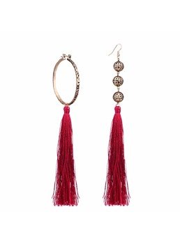 Bohemian Irregular Long Tassel Earrings