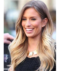 Loose Wave Synthetic Lace Front Women Wigs 14 Inches