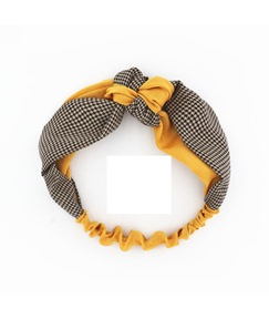 Pure Colour Splice Lace Hairband For Women