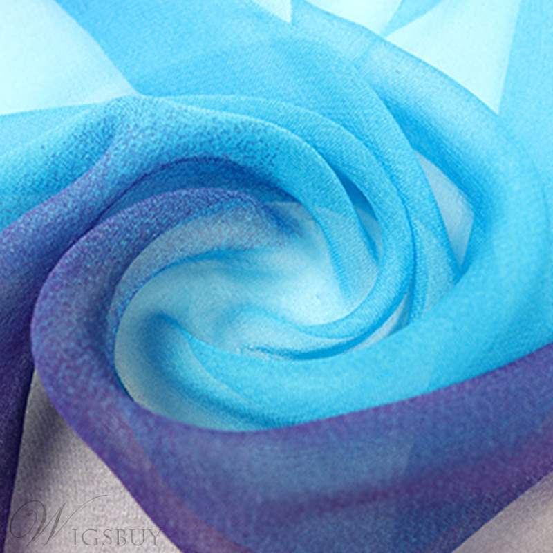 Chiffon Colorful Scarf