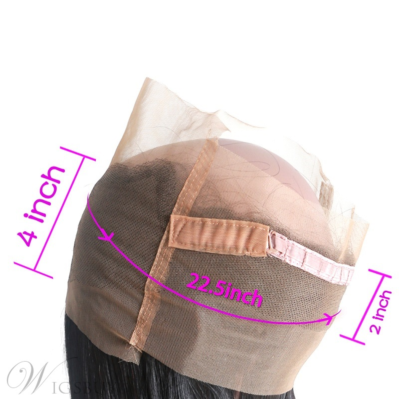 7A 360 Lace Frontal Closure Straight Human Hair Lace Band BS28