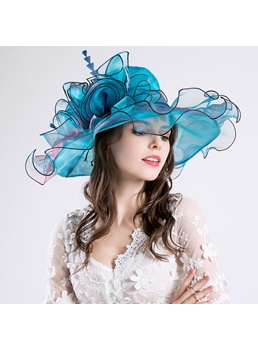 Vintage Organza Fashion Sun Hat