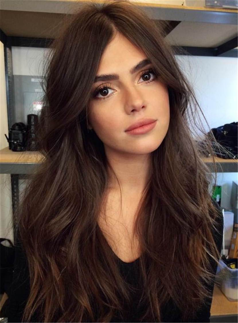 Long Wavy Lace Front Wig Synthetic Hair 26 Inches