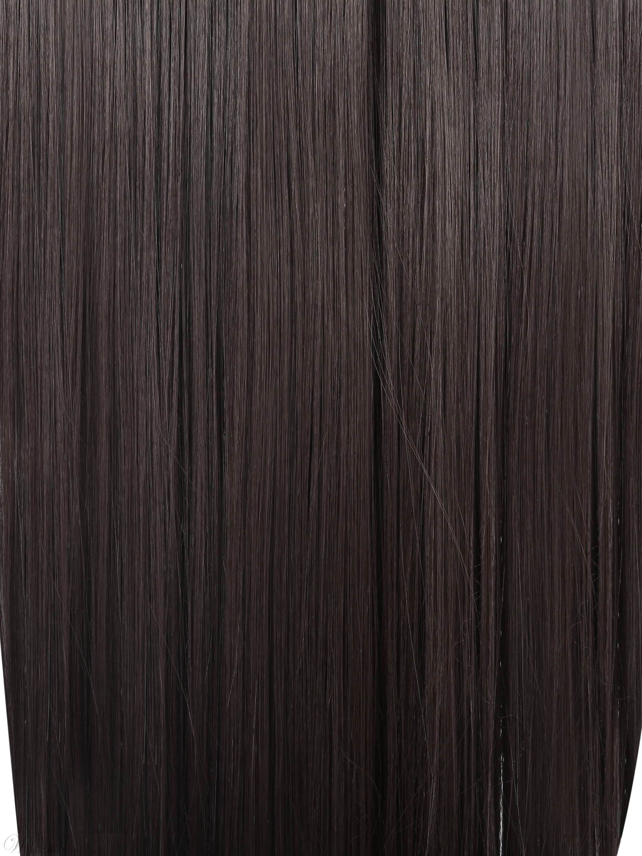 Clip In Remy Human Hair Extensions With Bleach Blonde 7pcs 70g 20
