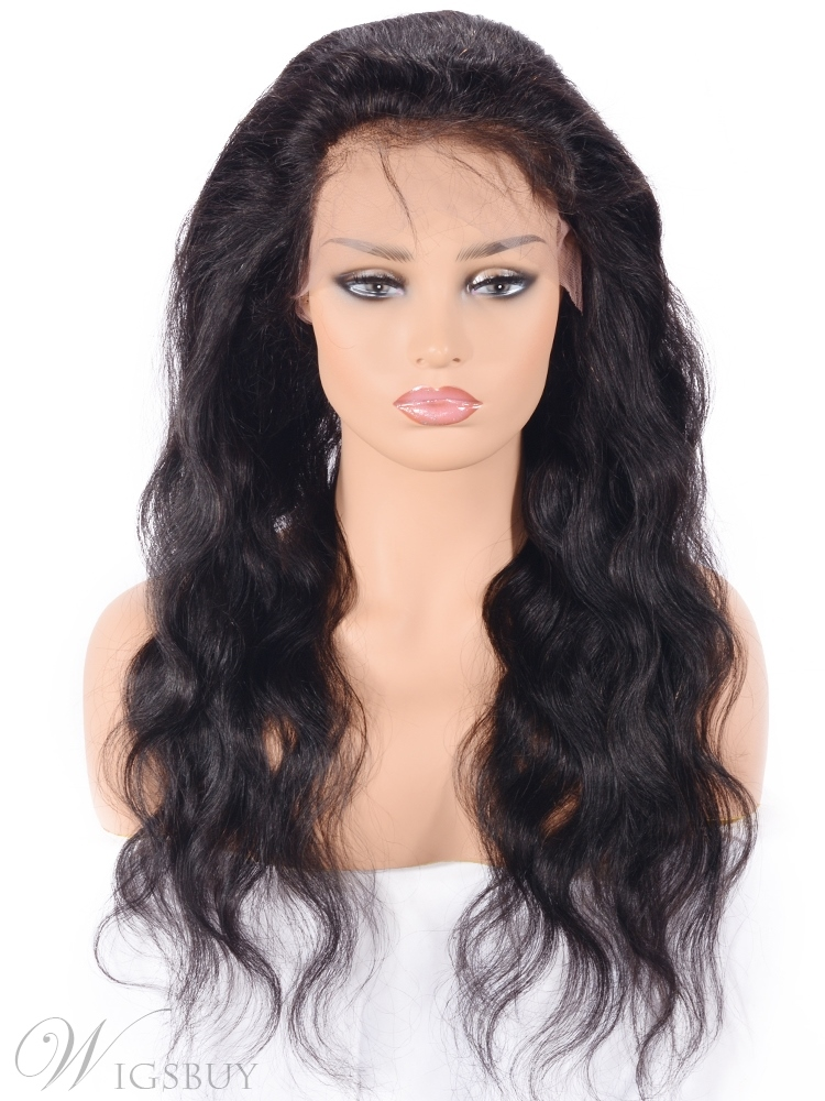 Wigsbuy Freestyle Hair Parting Human Hair Lace Front Wig 24 Inches