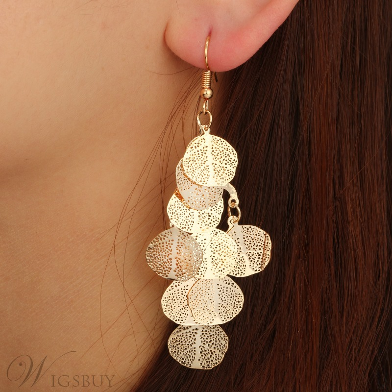 Hollow out Goddess Earrings