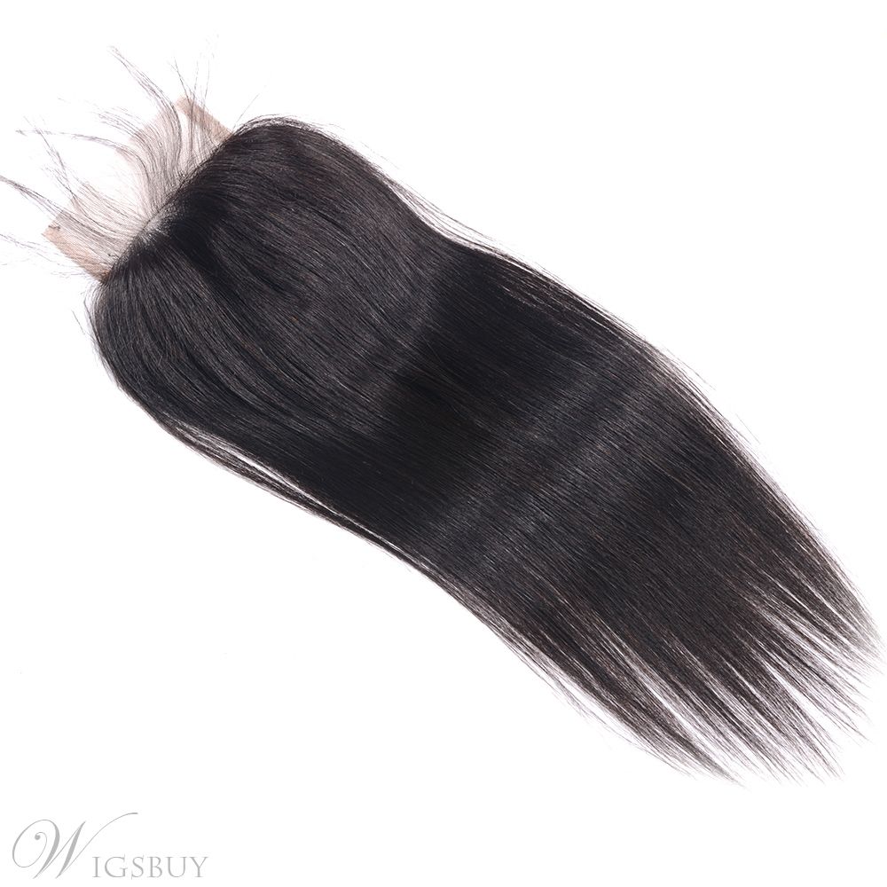 Wigsbuy Straight Hair 4x4 Swiss Lace Closure