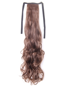 Long Wavy Synthetic Hair Hair Ponytails Inches