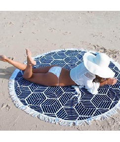 Summer Beach Chiffon Towel