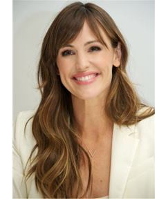 Long Wave Synthetic Hair With Bangs Capless Women Wigs 20 Inches