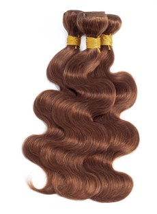 Wigsbuy Human Hair Weave Body Wave Light Brown 4 Bundle Deals