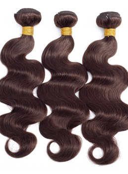 Wigsbuy Hair Body Wave Hair Weave Bundles 3 PCS Color #2