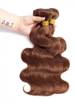 Wigsbuy Human Hair Body Wave 10-24Inch #30 Color
