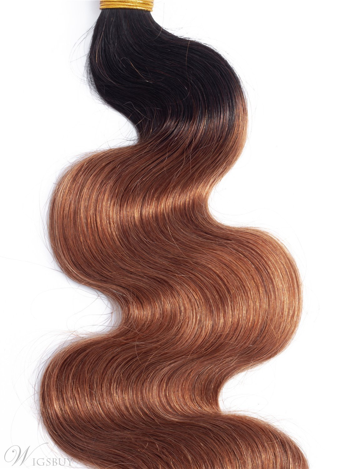 Wigsbuy Ombre Human Hair Bundles Body Wave 4 Bundles/Lot T1B/30 Color