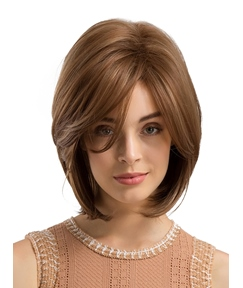 Short Bob Natural Straight Synthetic Hair Wig