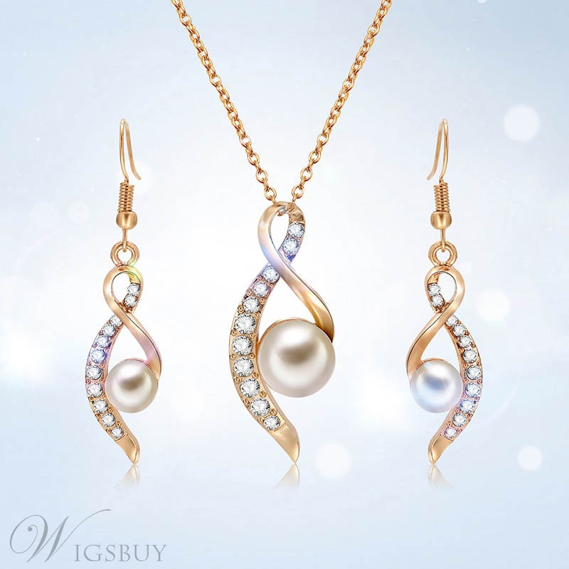 Pearl Party Jewelry Set